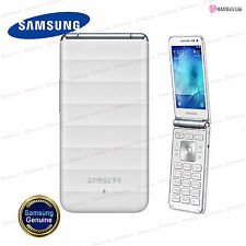"New! Samsung Galaxy Folder SM-G150 UNLOCKED TFT 3.8"" QUAD-CORE 1.2GHz [ White ]"