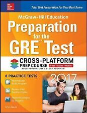 McGraw-Hill Education Preparation for the GRE Test 2017 Cross-Platform Prep Cour