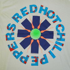 NOS VTG RED HOT CHILI PEPPERS 1990 SPERM T-SHIRT TOUR CONCERT 90S DEADSTOCK BAND