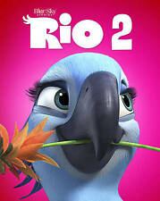 Rio 2 (Blu-ray/DVD, 2014, 2-Disc Set, Includes Digital Copy) Anne Hathaway   NEW