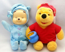 Winnie the Pooh Plush Set of 2 Both Light Up Disney Mattel Fisher Price Dream