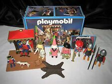 Vintage Playmobil 3659 Kings Court Medieval Magic Castle w/Box