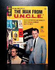 COMICS: Gold Key: Man From U.N.C.L.E. #6 (1966) - RARE (batman/star trek/flash)