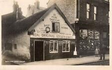 Eccles Cake Shop Shopfront Manchester RP pc used 1912 WHS Kingsway