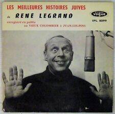 Renè Legrand 45 tours Les meilleures histoires juives 1963