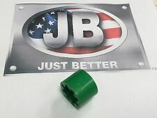 "J/B Industries Vacuum Pump Flexible Coupler ""DRIVE-SECTION"" Part# PR208-FS-GREEN"