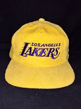 Vintage LA Lakers Sports Specialties The Cord Corduroy Hat New Without Tags