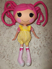 LALALOOPSY FULL SIZE DOLL JEWEL SPARKLES PINK SILLY HAIR MGA ENTERTAINMENT