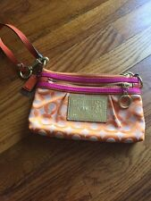 Coach Poppy~~Wristlets/ Small Purse--Gently Used--adorable--