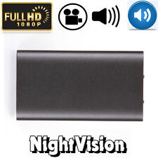 HD 1080P Real Battery External Power Bank Spy Hidden Camera Motion Night Vision