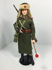 1/6 DRAGON RUSSIAN RED ARMY FEMALE TRAFFIC CONTROL NCO MOSIN  WW2 BBI 21ST DID
