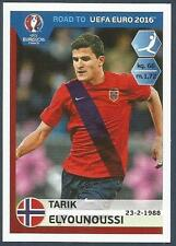 PANINI ROAD TO UEFA EURO 2016- #190-NORWAY-TARIK ELYOUNOUSSI