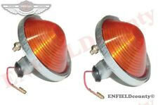 JEEP PARKING OR TURN SIGNAL AMBER LIGHT WILLYS CJ-3B CJ3 @ ECspares