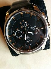 Tissot Couturier Automatic Chrono  Model T035.627.16.051.01  Black/Orange Dial