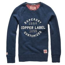 Superdry - Blue Fastback Crew Sweater - Size L *NEW WITH TAGS* £75
