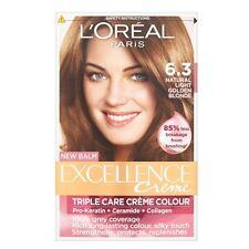 L'Oréal Excellence Triple Care Crème Colour 6.3 Natural Light Golden Brown
