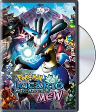 Pokemon: Lucario and the Mystery of Mew (2013, REGION 1 DVD New)