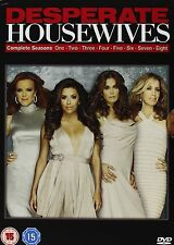 DESPERATE HOUSEWIVES SERIES 1-8 COMPLETE DVD BOX SET SEASONS 1 2 3 4 5 6 7 8
