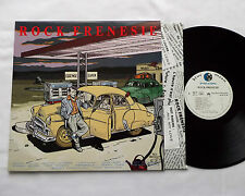 V/A ROCK FRENESIE French Rockabilly LP BLUE MOON - Art cover Ted BENOIT -M/NMINT