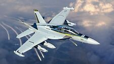 Italeri EA-18G Growler - Plastic Model Airplane Kit - 1/48 Scale - #552716