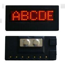 Scrolling Programmable LED Namecard Tag Laufschrift Namensschild Leucht Schild R