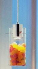 LED Hängeleuchte mit Glas Schauzylinder Pendelleuchte transparent befüllbar NEU