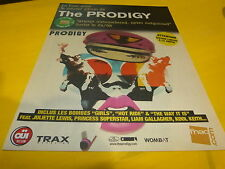 THE PRODIGY - Publicité de magazine / Advert ALWAYS OUTNUMBERED !!!!!!!!!