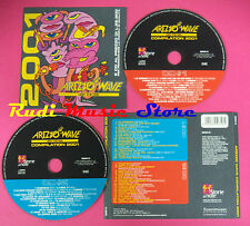 CD AREZZO WAVE COMPILATION 2001 no mc vhs dvd (C38)