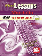FIRST LESSONS MANDOLIN BOOK CD & DVD   HALF PRICE!