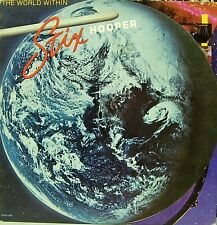 STIX HOOPER-THE WORLD WITHIN LP VINYL 1979 DOUBLE COVER (USA) EXCELLENT COVER