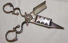 BELLE MOUCHETTE 19ème siècle métal argenté / antique candle snuffer