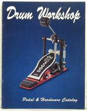 DRUM WORKSHOP MAGAZINE PEDAL & HARDWARE 1999 CATALOG PETER CRISS JASON BONH