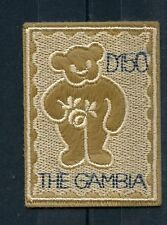 Gambia 2003 MNH Embroidery Teddy Bears 1v Embroidered Stamp Stamps