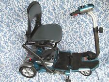 EV Rider Folding Mobility Scooter RETAIL $1935.00 BLUE IN COLOR