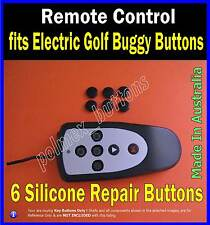 fits Remote control electric golf buggy caddy - 6 Repair Buttons
