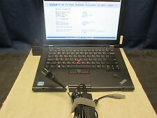 Lenovo ThinkPad T430s i5-3210m 8GB 320GB HDD With Dock and 20V AC Adapter NO OS