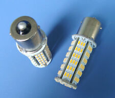 10x BA15S 1156 1141 LED bulb 126-3014SMD AC/DC 11-28V 4W Super Bright,Warm White