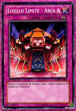 LIVELLO LIMITE AREA A LCYW-IT299 Comune in Italiano YUGIOH