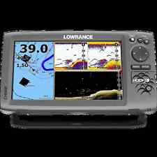 LOWRANCE HOOK-9 FISHFINDER/CHARTPLOTTER COMBO W/NO TRANSDUCER Chirp Sonar DnScan