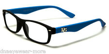 New DG EYEWEAR Reading Glasses 2.75 Women Black Blue With FREE Pouch R2024G275