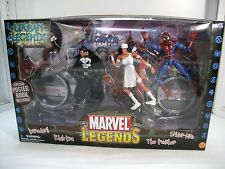 Marvel Legends DAREDEVIL PUNISHER ELEKTRA SPIDER-MAN Urban Legends 2003 ~ MISB