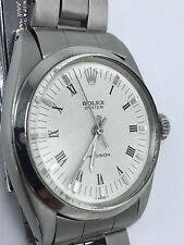 Vintage Rolex Oyster Precision Watch Ref# 6426 Roman Numeral white Dial