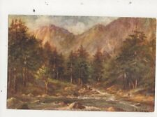 Aberglaslyn Pass LM Long Vintage Art Postcard 702a