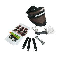 BTR Expandable Bicycle Bag / Saddle Bike Bag & Puncture Repair Kit & Bike Tools