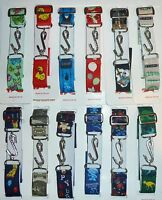 BOYS / GIRLS CHILDRENS SUPER STRETCHY SNAKE BELTS PATTERNED ONE SIZE FITS ALL