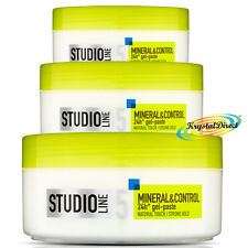 3x L'Oreal Studio minerali & Control Natural Touch forte HOLD GEL incollare 150ml