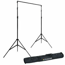 Polaroid Pro Studio Black Premium Muslin Backdrop (10' x 16.5')
