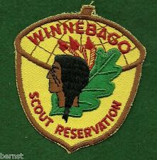 BOY SCOUT PATCH - 1974 WINNEBAGO SCOUT RESERVATION  - FREE SHIPPING  XX