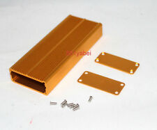 Gold Aluminum Project Box Enclosure Case Electronic DIY 18.5x45x110mm US Stock