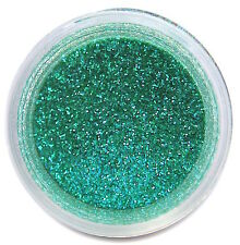 Disco TEAL Glitter Dust 5g Cake Decorating Fondant USA Made